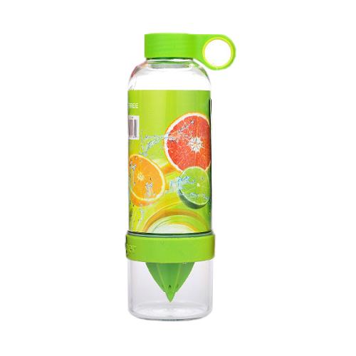 Бутылка-Соковыжималка Citrus Zinger, Цвет Зеленый