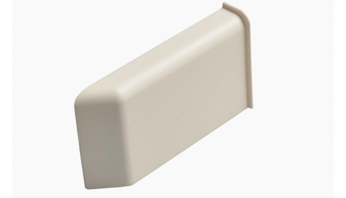Декоративная крышка Scarpi-4 Белая, Левая