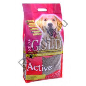 Корм для активных собак: курица и рис (Adult Active)