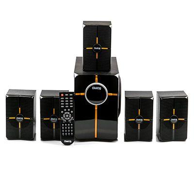 Мультимедийные колонки 5.1 Dialog Progressive AP-502 BLACK - акустические колонки 25W+5*5W