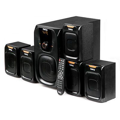 Мультимедийные колонки 5.1 Dialog Progressive AP-505 BLACK - акустические колонки 45W+5*7W