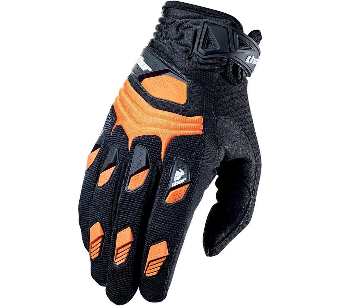 Thor - Deflector Orange перчатки, оранжевые