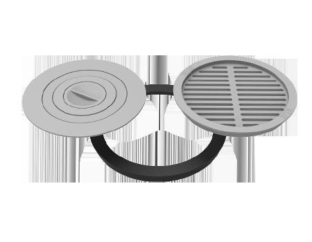 Комплект 480 (плита+решетка-гриль)
