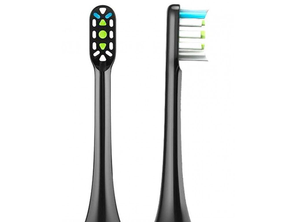 Сменные насадки для зубной щетки Xiaomi Soocare X3 (BH01) 2шт Черные