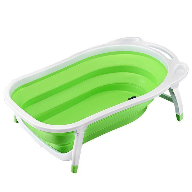 Детская Складная Ванна Folding Baby Bathtub, Цвет Зеленый