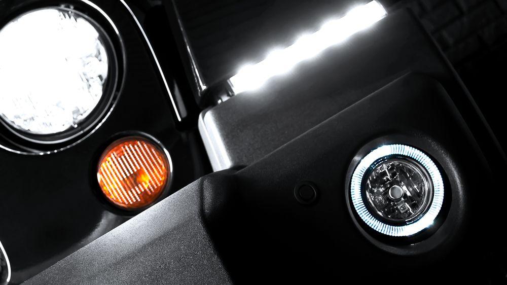 Противотуманные фары LED (Jeep Wrangler)