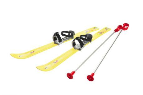 Детские лыжи с палками и креплениями Gismo Riders Baby Ski, 90 см (Чехия)