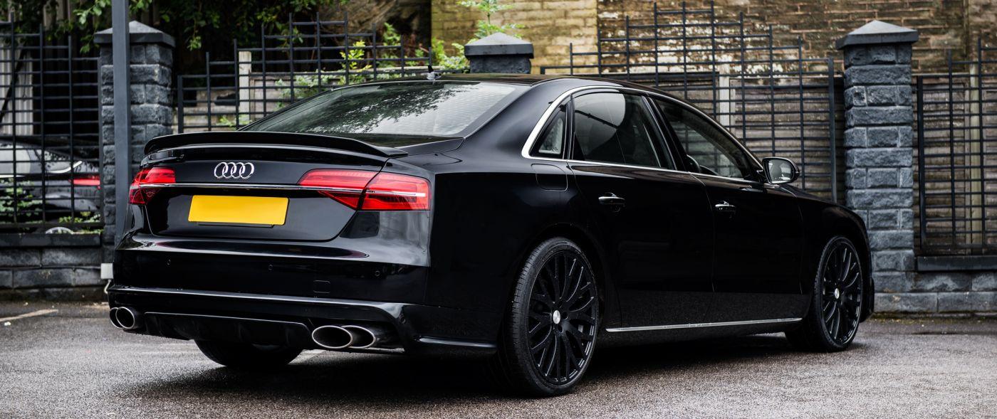 Спойлер крышки багажника (Audi A8)