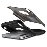 Оригинальный чехол SGP Spigen Slim Armor для iPhone XS Max стальной