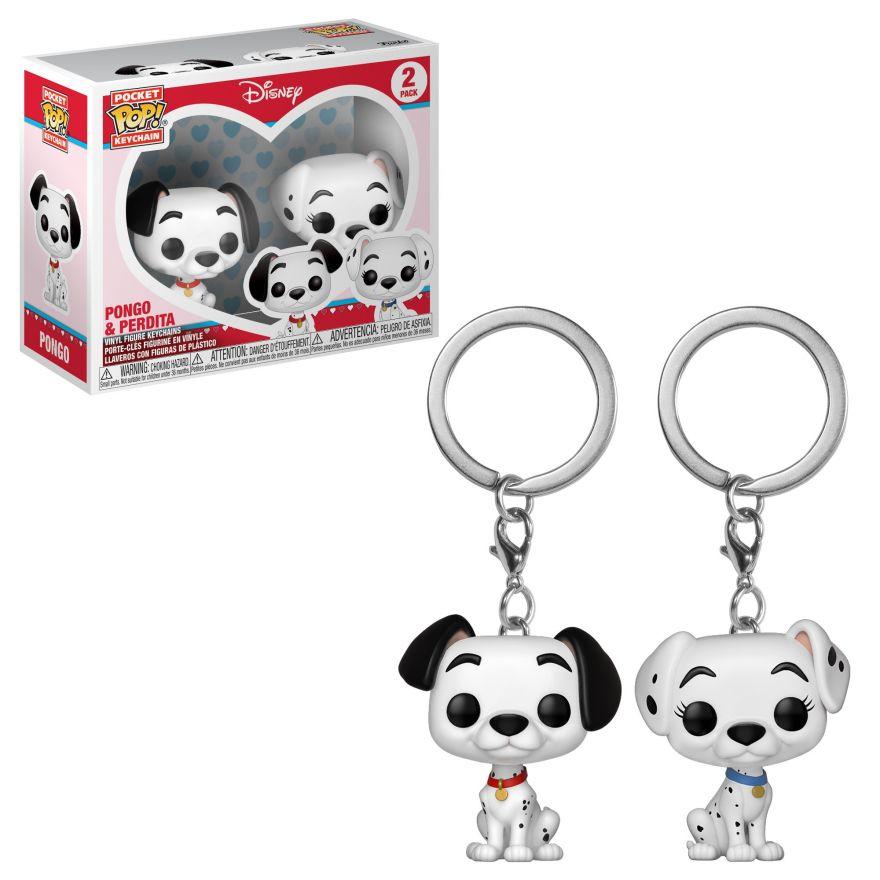 Брелок Funko POP! Keychain: Disney: Dalmations: 2PK Pongo & Perdita 36371-PDQ