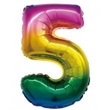 """Радуга, 16""""/41 см, """"5"""""""