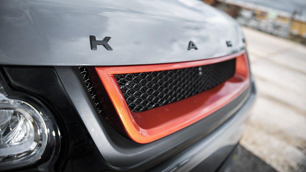 LE — передняя решетка радиатора (Range Rover Sport 2014)