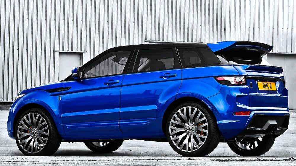 Верхний спойлер (Range Rover Evoque)