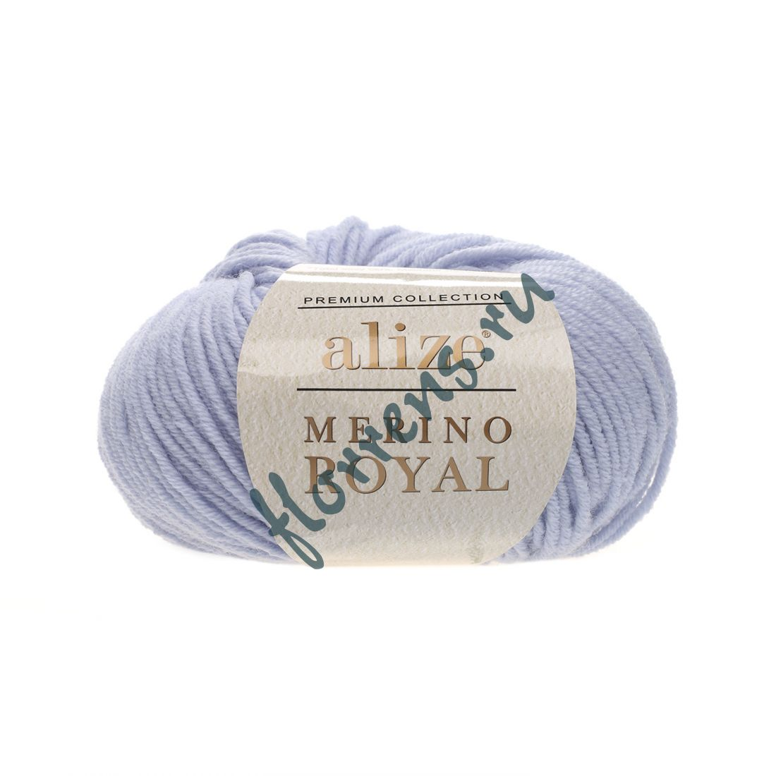 "Пряжа ""Alize"" Merino Royal / 480 голубой"
