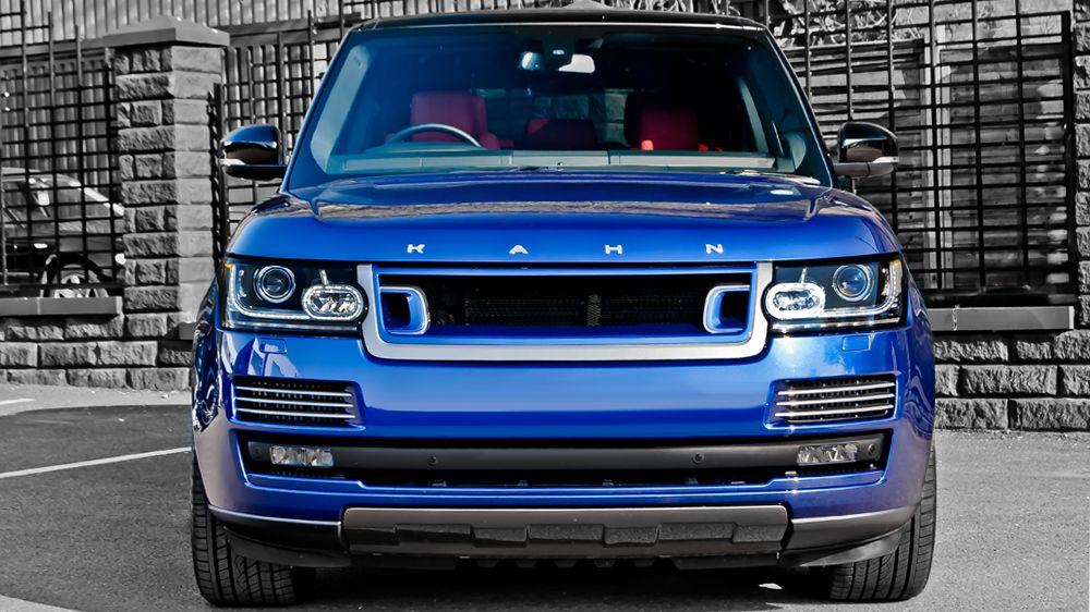 RS — передняя решетка радиатора (Range Rover Vogue 2013)