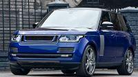 LE — передняя решетка радиатора (Range Rover Vogue 2013)