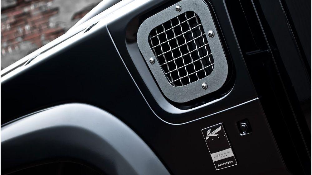 Боковые воздухозаборники (Land Rover Defender)