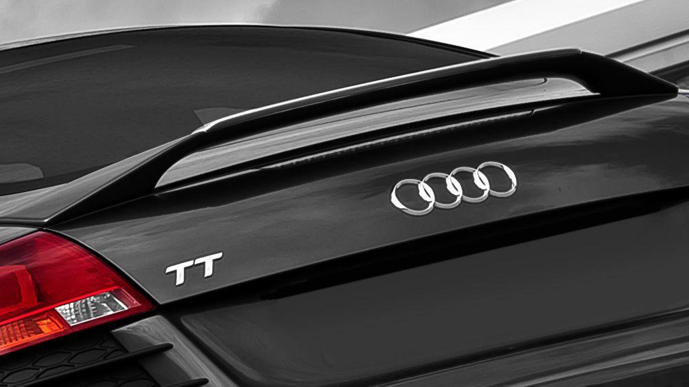 Спойлер крышки багажника (Audi TT)