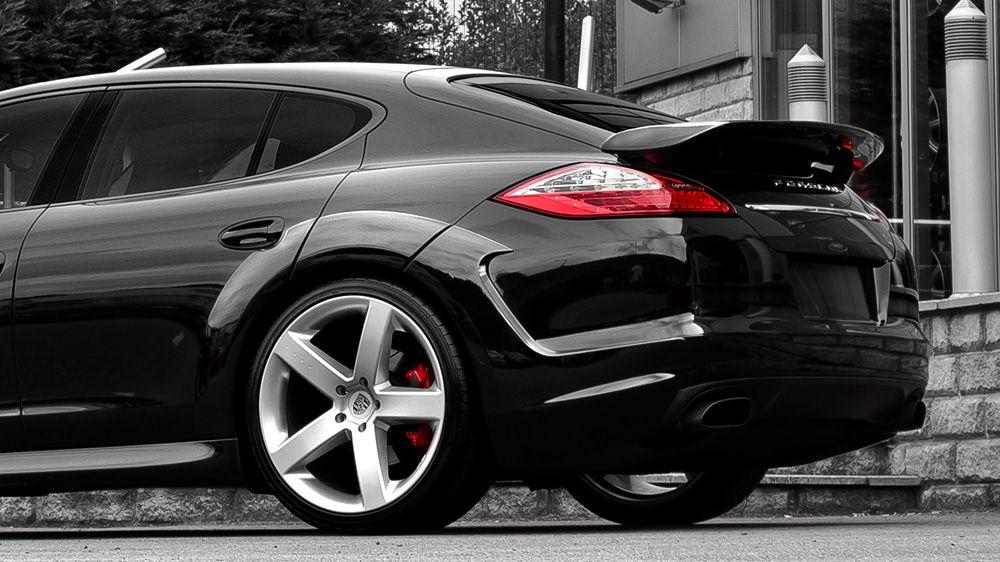 Спойлер крышки багажника (Porsche Panamera)