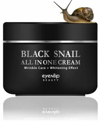 EYENLIP Крем для кожи вокруг глаз многофункциональный BLACK SNAIL EYE CREAM