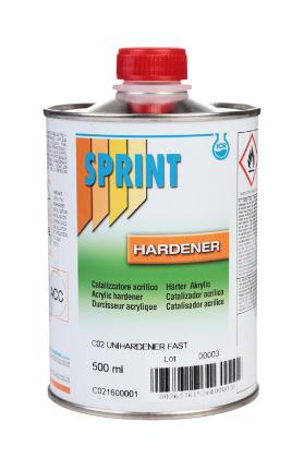 Sprint C02 Отвердитель для лаков HS/MS Rapido быстрый, 500мл.
