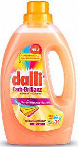 Dalli Farb-Brillanz Гель для стирки цветных и ярких вещей с формулой яркости цвета и активным ингредиентом Biotouch 20 стирок 1,1 л