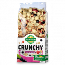 Завтраки сухие CRUNCHY с лесными ягодами 300 г