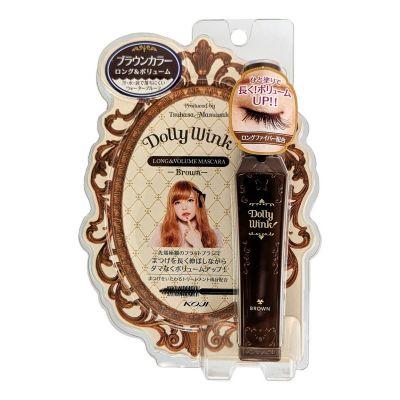 Dolly Wink Long&Volume Mascara Тушь для ресниц (удлинение + объем, влагостойкая)
