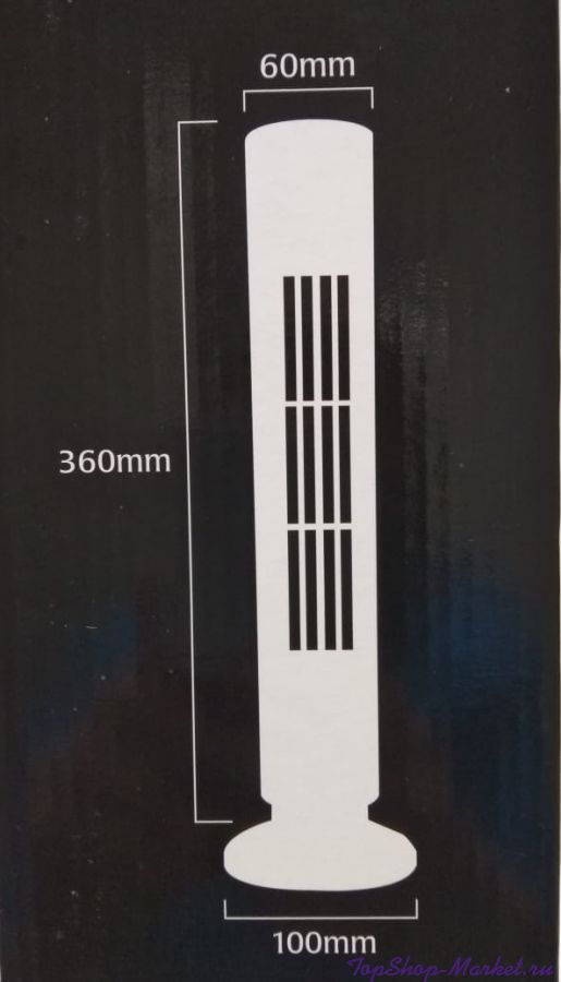 Настольный портативный вентилятор-башня  Usb Tower Fan Light