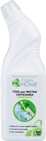Clean Home Гель для чистки сантехники 800 мл