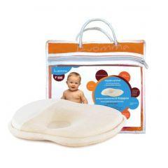 Детская ортопедическая подушка Luomma F-505 (до 1,5 лет) с эффектом памяти