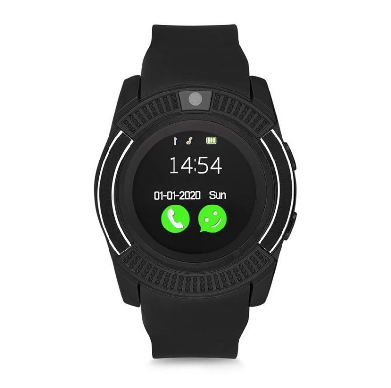 Умные часы Smart watch V8, цвет черный