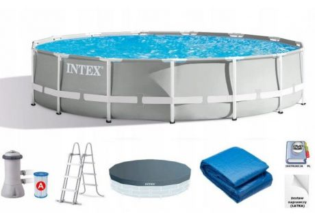 Intex 26724, каркасный бассейн 457 x 107 см Prism Frame Pool