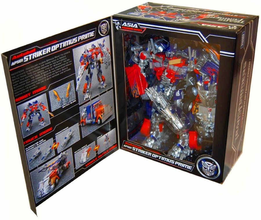 Трансформер Ultimate Edition Aps01u Optimus Prime Action Figure