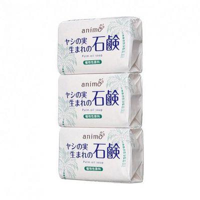 Rocket Soap Animo Туалетное мыло на основе пальмового масла с цветочно-цитрусовым ароматом 80 гр 3 шт