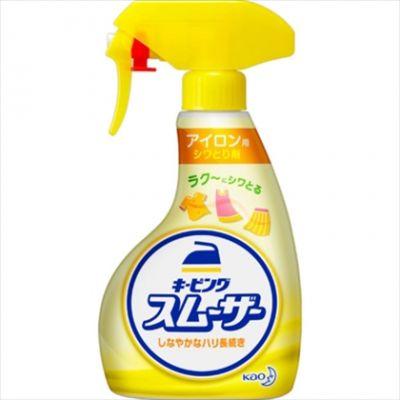 Kao Keeping Средство спрей для глажки белья с ароматом свежей зелени 400 мл