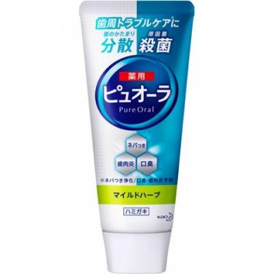 Kao Pure Oral Зубная паста антибактериальная для профилактики кариеса и гангивита 115 гр