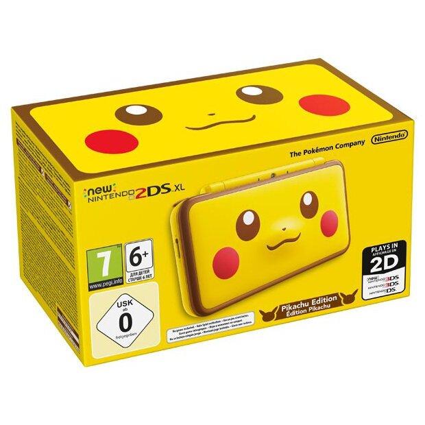 Игровая приставка New Nintendo 2DS XL Pikachu Edition