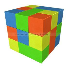Мягкий конструктор Кубик-рубик мини