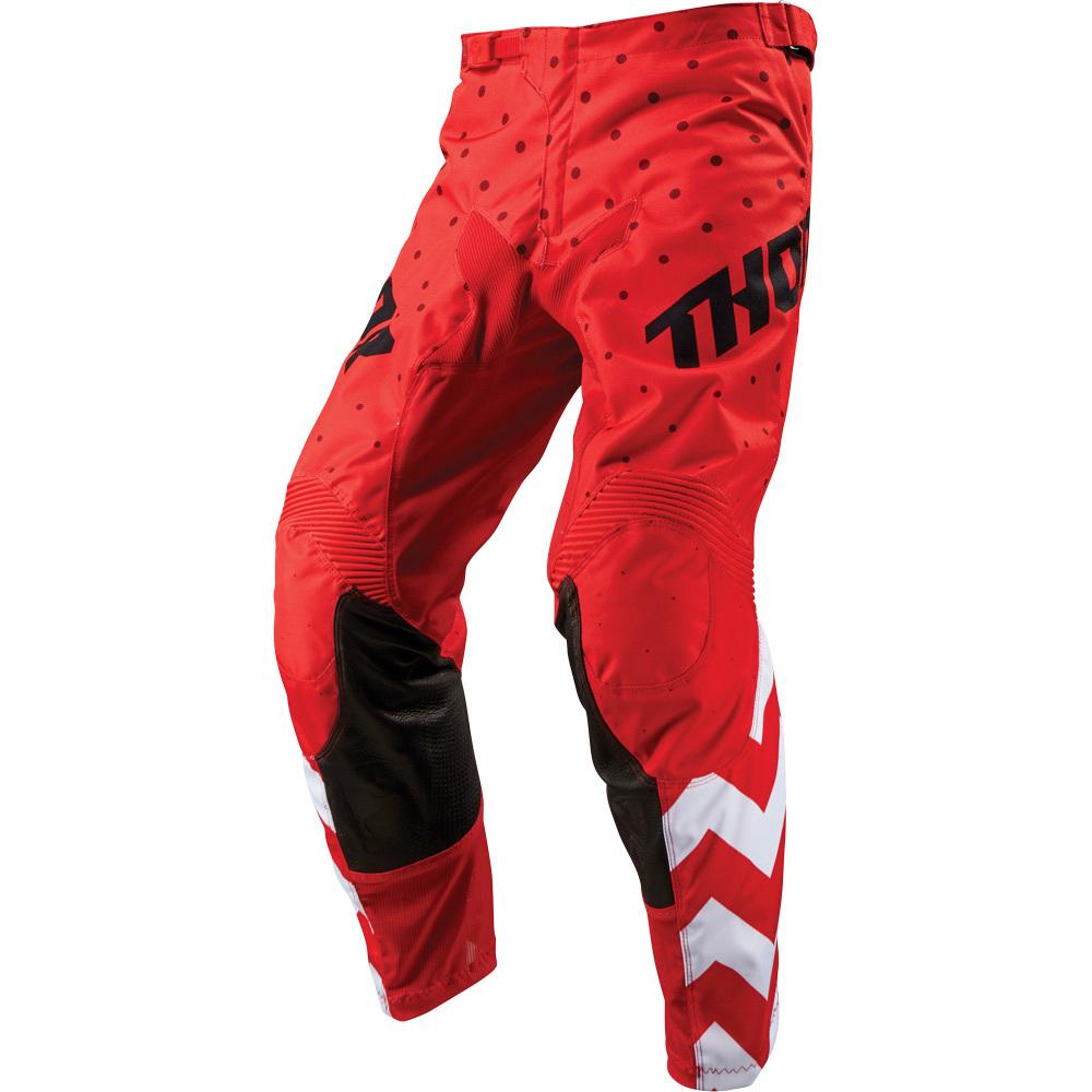Thor - 2019 Pulse Stunner Red/White штаны, красно-белые