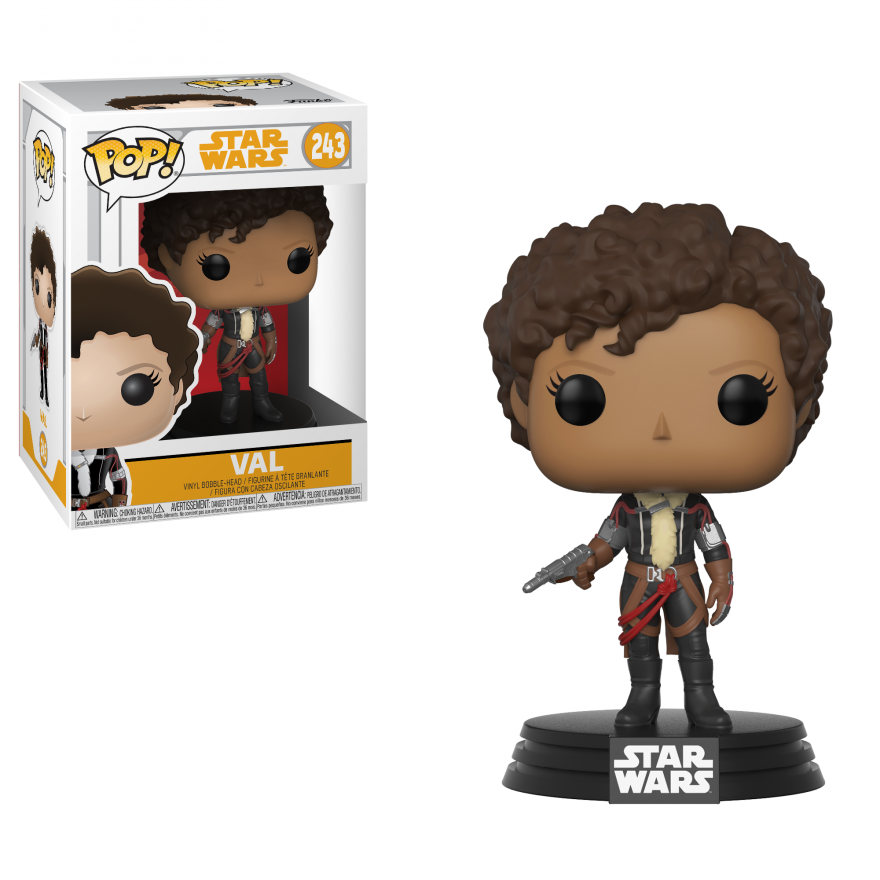 Фигурка Funko POP! Bobble: Star Wars: Solo: Val POP 14 26989