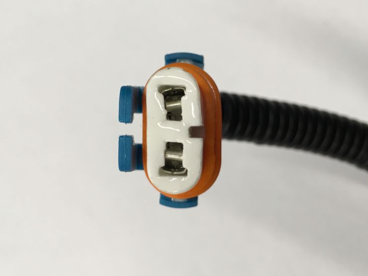 Разъём лампы фары НB4 2 контакт.