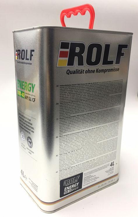 Масло моторное Rolf Energy 10W40 4л 322227
