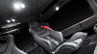 Подсветка задней части салона LED светом (Land Rover Defender)