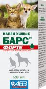 БАРС Форте капли ушные  фл. 20 мл