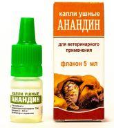 Анандин капли ушные фл.5мл
