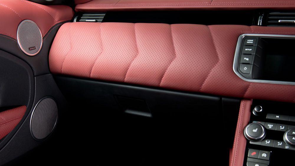 Обшивка торпеды (Range Rover Evoque)