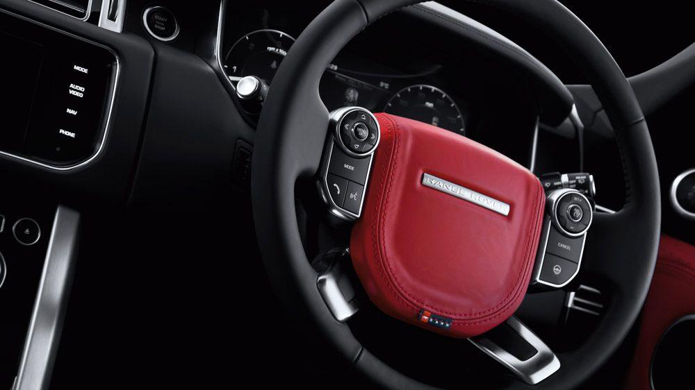 Обшивка рулевого колеса (Range Rover Vogue 2013)