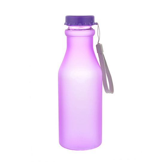 Бутылка для воды Bra Free, цвет фиолетовый