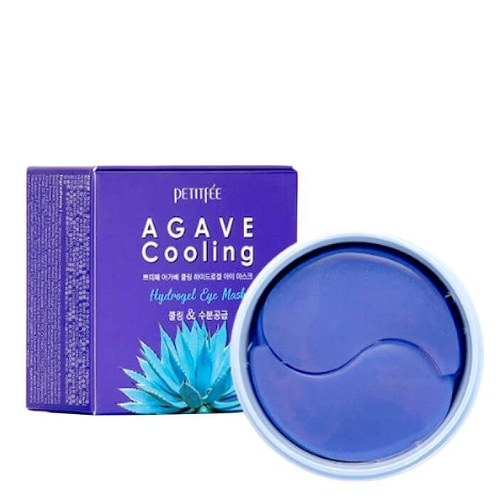 PETITFEE Набор гидрогелевых патчей для век АГАВА Agave Cooling Hydrogel Eye Mask, 60 шт